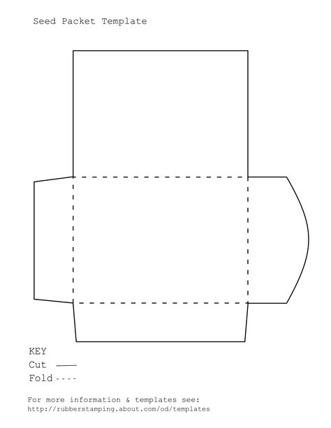 printable seed envelope template make an attractive pie wedge gift box with our free pdf
