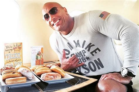 dwayne the rock johnson cheat day food how eating 15 000 calories benefits your goals