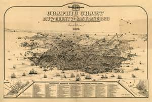 historical maps of california historical map of san francisco ca 1875