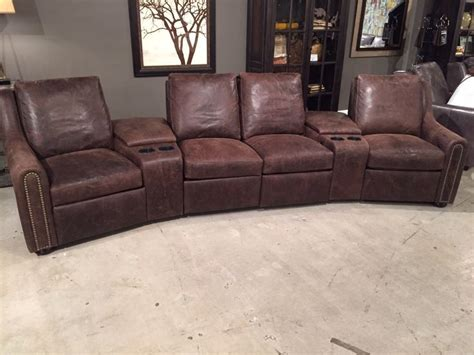 home theater recliners rooms to go 900 series new arm choice in a reclining home theater set