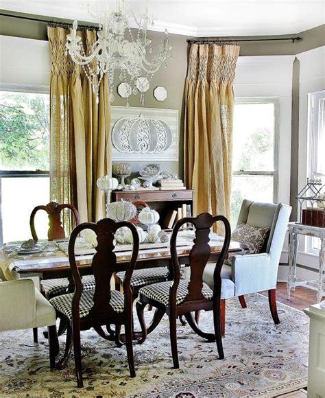 beautiful white midcentury dining room design