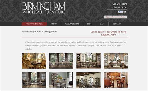 huebris 187 birmingham wholesale furniture web design