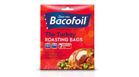 the turkey roasting bags 2 large size bacofoil