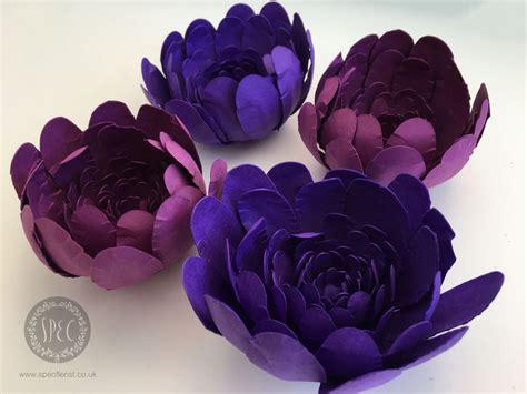 lavender paper flower tutorial pretty purple blooms diy paper flowers