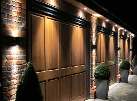 Outdoor Garage Wall Lights Awesome Outdoor Garage Lights With Beautiful Led Outdoor Downlight Idea Home Interior Exterior