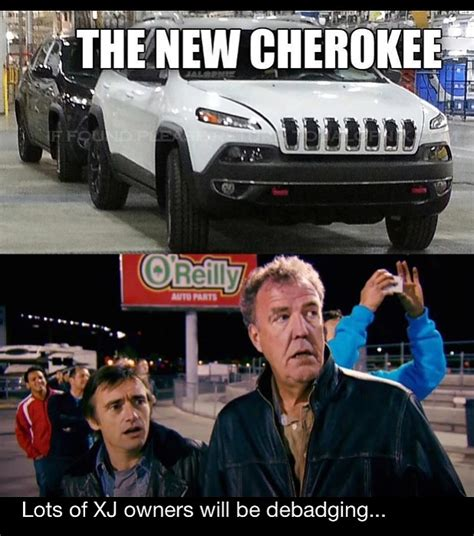 Top Gear Memes - 2014 jeep cherokee meme