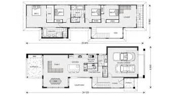 Narrow Block Floor Plans by 1000 Images About Narrow Block Plans On Pinterest Case