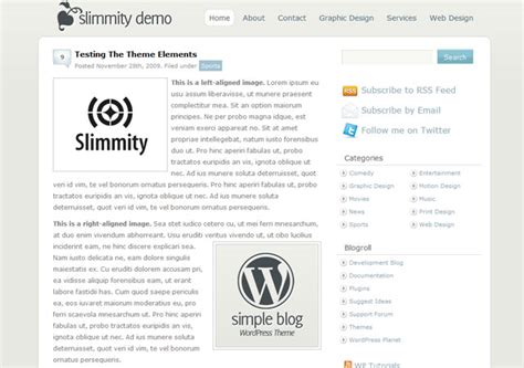 themes wordpress free simple top 20 simple free wordpress theme themescompany