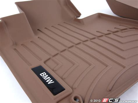 All Weather Rubber Floor Mats by Genuine Bmw 82110419041 Front All Weather Rubber Floor