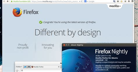 mozilla firefox themes linux australis ui lands in firefox nightly install it in