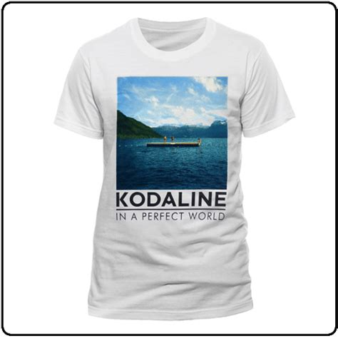 Kaos Kodaline In A Word kodaline im ready black t shirt the official