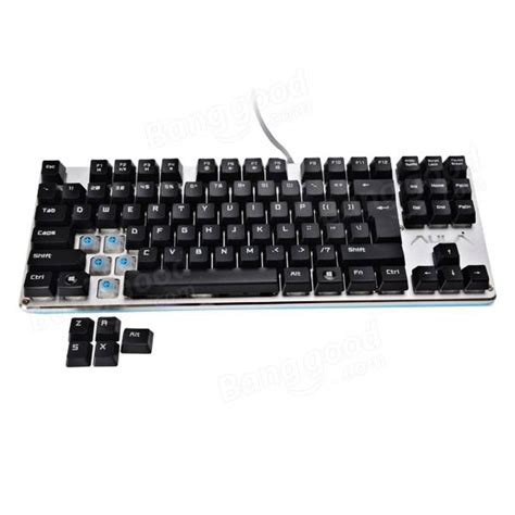 Keyboard Gaming Aula aula f2012 87keys mechanical gaming keyboard aula blue switch sale banggood