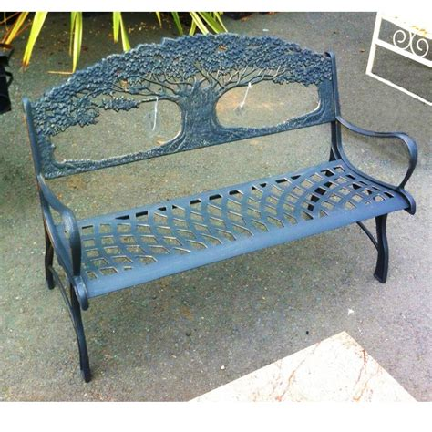 cast iron tree bench cast iron tree design garden bench black country metal works