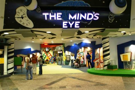 the ey exibition the mind s eye exhibition entrance at singapore science centre guidegecko