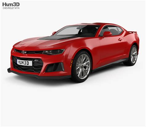 Free Camaro 3d Model chevrolet camaro zl1 2016 3d model hum3d