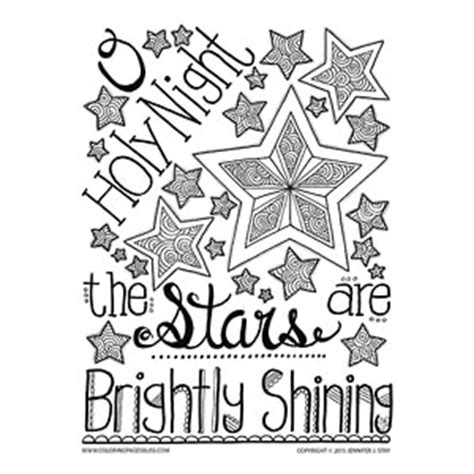 coloring pages bliss youtube o holy night christmas coloring page