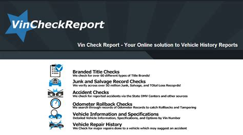 Free Vin Lookup New Site For Free Vin Check Information Vehicle History Reports For Used Cars