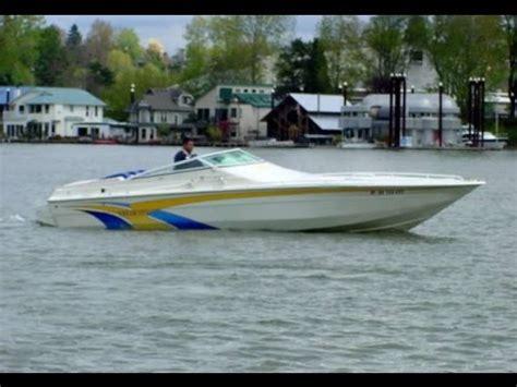 speed boat velocity 2003 28 velocity 280 performance cuddy boat youtube