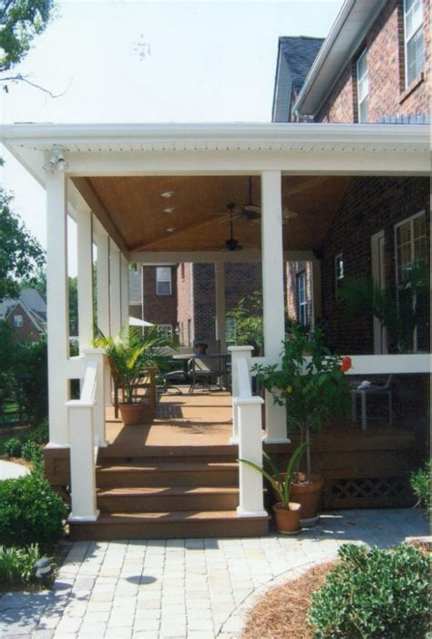 covered porches southern porch patio co