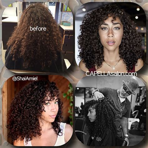 bad deva cut shai amiel is a curlboss this is why