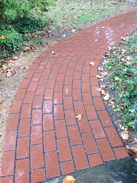 brick look pavers permeable pavers curb pollution and look great my