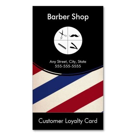 make your own punch cards barber shop loyalty business card punch card make your