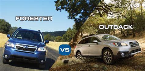 subaru forester vs outback dilemma