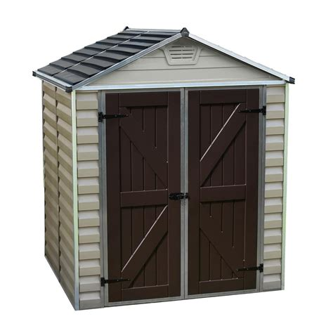 5 Foot Shed by Palram 6 Ft X 5 Ft Skylight Shed 703388 The Home Depot