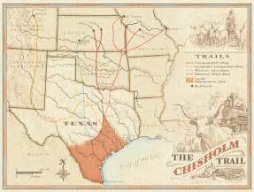 chisholm trail map map of chisholm trail 2 flickr photo