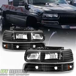black 1999 2002 chevy silverado 00 06 tahoe suburban