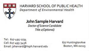 harvard business cards business cards harvard mail print