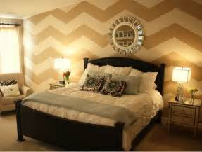 chevron bedrooms chevron accent wall this is a fabulous way to accent one wall in a room without having to