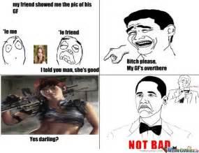 Badass Memes - badass gf by xerionicus meme center