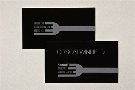 chef business cards templates free sleek personal chef business card flickr photo