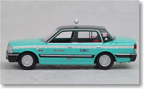 the car collection 80 hg 020 toyota crown taxi greencab