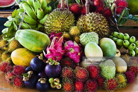 fruit x asia a mix of tropical asian fruits including rambutan