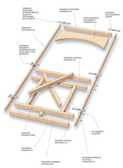 gazebi in legno fai da te costruire un gazebo in legno bricoportale il portale