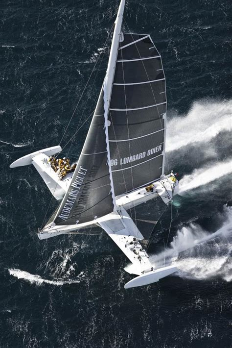 trimaran world speed record hydroptere challenge and adventure