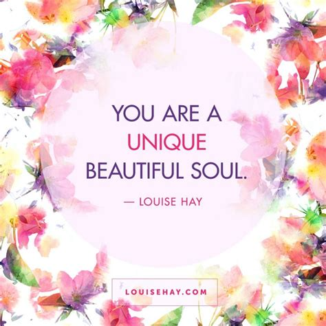 You Is For Unique daily affirmations positive quotes from louise hay