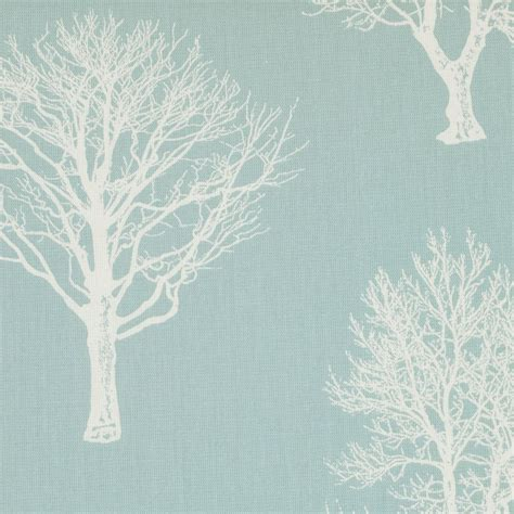 duck egg blue curtain fabric uk cottage tree design duck egg eyelet top fully lined