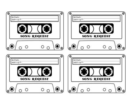 Wedding Song Request Form by Cassette Song Request Wedding Rsvp Card By