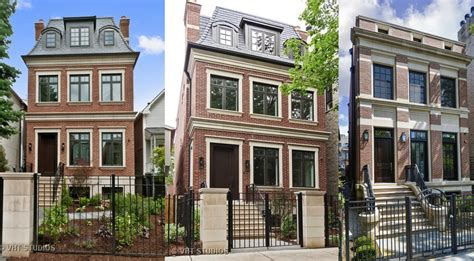 home builders chicago high end new construction homes in lincoln park are