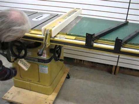 sold used powermatic model 66 table saw 5hp us0120