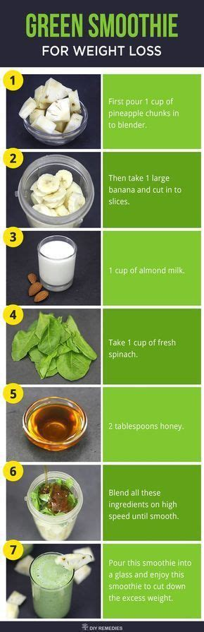 Best Detox Smoothie Diet by Best 25 Weight Loss Smoothies Ideas On