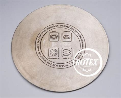 adattatore pentole per piano cottura induzione rotex set 2 piastre piastra disco induzione diffusore per