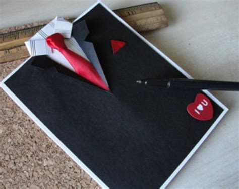 suit and tie card template wonderful diy suit and tie card for s day