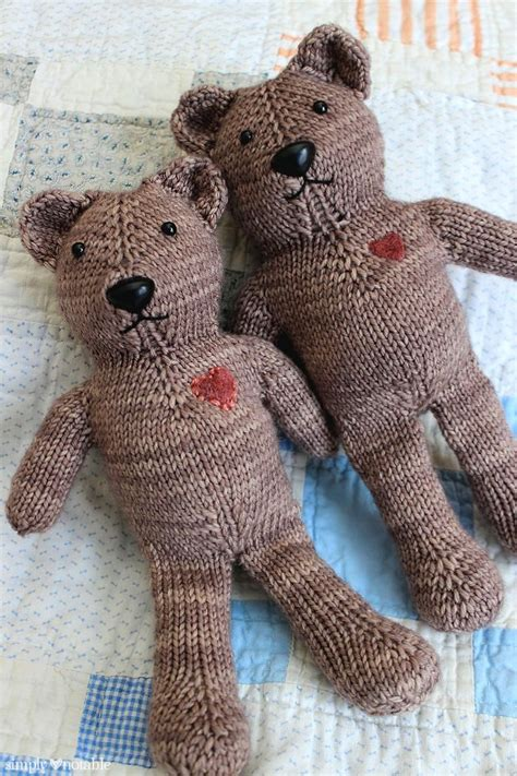 teddy knitting patterns free best 25 knitting ideas on teddy