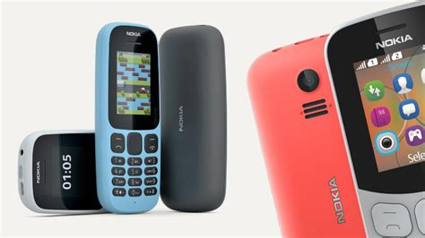 Nokia 130new the new nokia 105 and nokia 130 arrived offering exceptional battery from 14 50