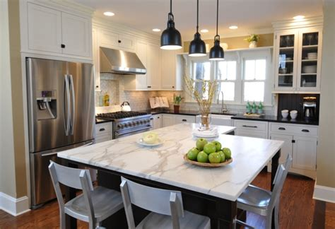 Different Of Countertops For Kitchen Different Types Of Countertops Kitchen Traditional With