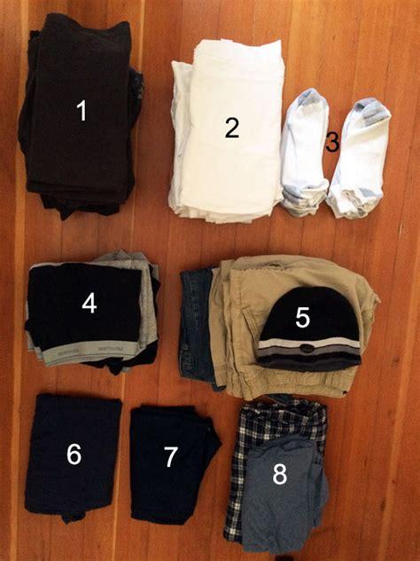 Minimalist Wardrobe Mens by Mens Minimal Wardrobe Minimalist Closet Living